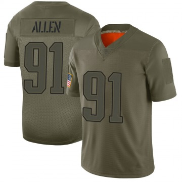 Youth New England Patriots Beau Allen Camo Limited 2019 Salute to Service Jersey By Nike